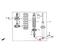 967, с/блок заднего амортизатора, , 750 р., 52622-S84-A01, Honda Motor Co., ВТУЛКИ И САЙЛЕНТБЛОКИ