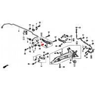 979, с/блок заднего амортизатора, , 990 р., 52622-ST3-E01, Honda Motor Co., ВТУЛКИ И САЙЛЕНТБЛОКИ