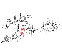 1042, бачок ГУРа, , 4 500 р., 53701-S04-J51, Honda Motor Co., РУЛЕВОЕ УПРАВЛЕНИЕ