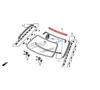 1171, молдинг лобового стекла верхний, , 1 200 р., 73151-SR3-013, Honda Motor Co., ЖЕЛЕЗО И ВНЕШНИЙ ПЛАСТИК