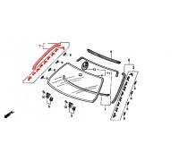 1174, молдинг лобового стекла боковой правый, , 2 700 р., 73152-SR4-003, Honda Motor Co., ЖЕЛЕЗО И ВНЕШНИЙ ПЛАСТИК