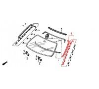 1177, молдинг лобового стекла боковой левый, , 3 330 р., 73162-ST3-E01, Honda Motor Co., ЖЕЛЕЗО И ВНЕШНИЙ ПЛАСТИК