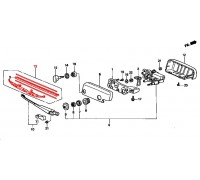 1750, щетка заднего стекла , , 1 500 р., 76730-S10-A02, Honda Motor Co., СТЕКЛООЧИСТИТЕЛЬ