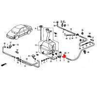1205, моторчик омывателя лобового стекла, , 2 999 р., 76806-ST3-E01, Honda Motor Co., СТЕКЛООЧИСТИТЕЛЬ