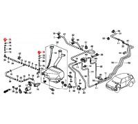 1753, форсунка омывателя фары, , 1 080 р., 76880-S10-S01, Honda Motor Co., ОПТИКА