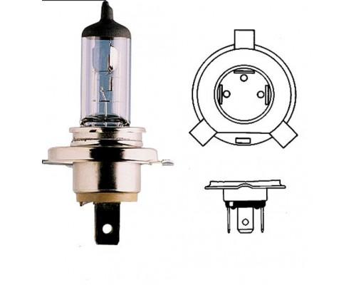 лампочка дальнего / ближнего света H4 12V 60/55W