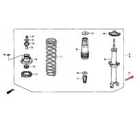 1268, болт с/блока заднего амортизатора, , 570 р., 90021-SM4-003, Honda Motor Co., ВТУЛКИ И САЙЛЕНТБЛОКИ