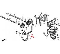1269, болт ролика ГРМ, , 570 р., 90026-PR3-003, Honda Motor Co., РЕМНИ РОЛИКИ САЛЬНИКИ
