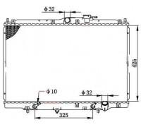 1043, радиатор охлаждения двигателя, , 4 400 р., 19010-P1E-E51VIT, VITE, РАДИАТОРЫ