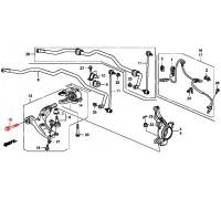 1612, болт переднего нижнего рычага, , 590 р., 90116-SNA-010, Honda Motor Co., ПЕРЕДНЯЯ ОСЬ