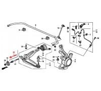 1585, болт переднего нижнего рычага, , 690 р., 90118-SMG-E00, Honda Motor Co., ПЕРЕДНЯЯ ОСЬ