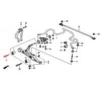 1279, болт внутреннего с/блока переднего нижнего рычага, , 270 р., 90118-SR3-003, Honda Motor Co., БОЛТЫ ПОДВЕСКИ