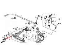 1586, болт переднего нижнего рычага, , 1 080 р., 90119-SMG-E00, Honda Motor Co., ПЕРЕДНЯЯ ОСЬ