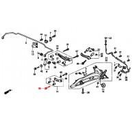 1283, болт заднего рычага схождения, , 360 р., 90171-SR3-003, Honda Motor Co., ЗАДНЯЯ ОСЬ