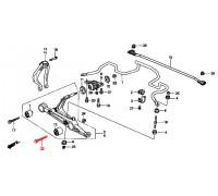 1301, болт переднего амортизатора, , 870 р., 90175-SH3-005, Honda Motor Co., ПЕРЕДНЯЯ ОСЬ