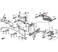 1306, гайка, , 330 р., 90362-SP0-010, Honda Motor Co., БОЛТЫ ПОДВЕСКИ