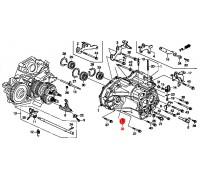 1325, сальник правого привода для МТ, , 600 р., 91206-PC8-005, Honda Motor Co., ТРАНСМИССИЯ