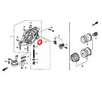 1351, сальник коленвала передний, , 250 р., 91212-PLC-003, STONE, РЕМНИ РОЛИКИ САЛЬНИКИ
