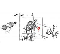 1353, сальник коленвала передний, , 570 р., 91212-PR3-003, NOK, ДЕТАЛИ ДВИГАТЕЛЯ