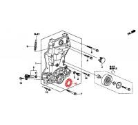 1459, сальник коленвала передний, , 690 р., 91212-PWA-003, Honda Motor Co., ДЕТАЛИ ДВИГАТЕЛЯ