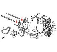 1373, сальник  распредвала, , 540 р., 91213-PR3-004, Honda Motor Co., РЕМНИ РОЛИКИ САЛЬНИКИ