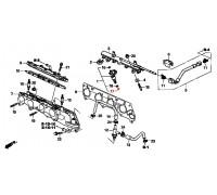 1470, прокладка форсунки инжектора, , 180 р., 91302-PCA-000, Honda Motor Co., ПРОКЛАДКИ ДВИГАТЕЛЯ