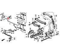 1853, втулка заднего стабилизатора подвесная, , 90 р., 52315-SN7-E00RBI, RBI, ВТУЛКИ И САЙЛЕНТБЛОКИ