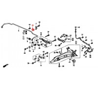 1855, втулка заднего стабилизатора подвесная, , 90 р., 52315-SR3-000RBI, RBI, ВТУЛКИ И САЙЛЕНТБЛОКИ