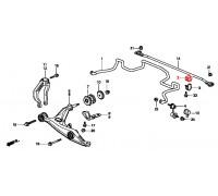 втулка переднего стабилизатора подвесная