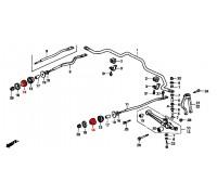 втулка растяжки стабилизатора передняя