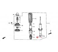 2075, с/блок заднего амортизатора, , 390 р., 52622-SR3-003RBI, RBI, ЗАДНЯЯ ОСЬ