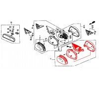 746, зеркало правое механическое для седана, , 1 620 р., VM-254-4D-R, TAY, ЗЕРКАЛА