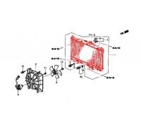 1653, радиатор охлаждения двигателя, , 5 700 р., 19010-PNL-G01AKS, AKS, РАДИАТОРЫ
