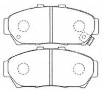 1864, колодки тормозные передние комплект, , 1 100 р., 45022-ST7-406 , FBL, ПЕРЕДНЯЯ ОСЬ
